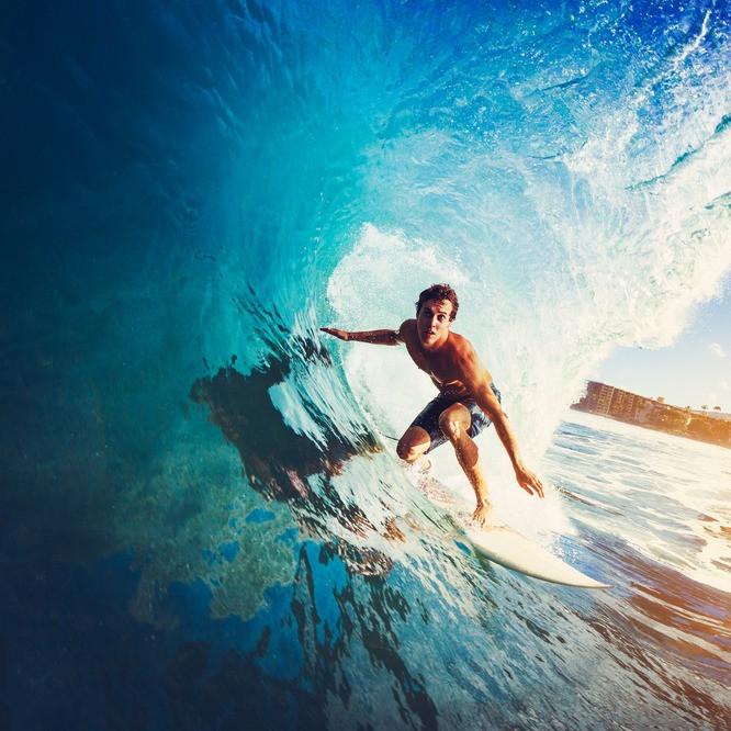 Surfen Ferien