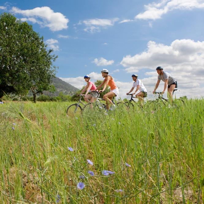 Radfahren Ferien